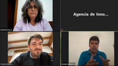Rodrigo Buteler, Raúl Gonzalo Quilodram, Soledad Gonnet