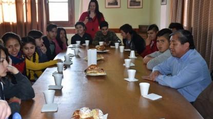 luis ojeda, desayuno estudiantes