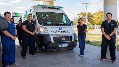 ambulancia, trabajadores de la salud