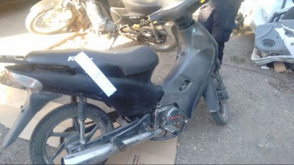 motos secuestradas, moto