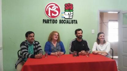 partido socialista, mariana arregui, paolo etchepareborada, luz riera