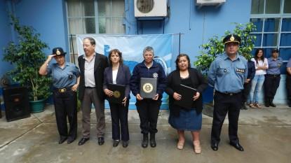 policia, mujeres, reconocimiento