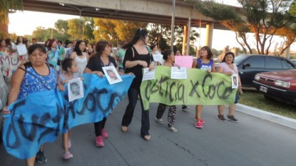 Yesica Coco Campos, marcha