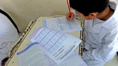 alumno, clase, aprender