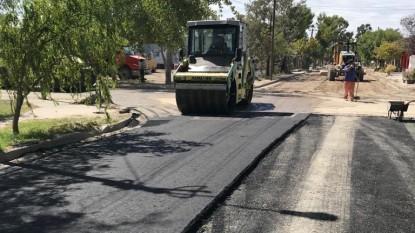 asfalto, pavimento, BARRIO LAS FLORES