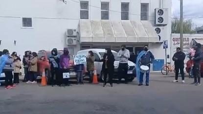 policias, viedma, PROTESTA, reclamo