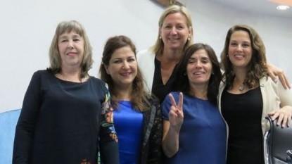 maria eugenia martini, alejandra mas, Gabriela Abraham, maria ines grandoso, Daniela Salzotto