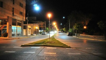 viedma, 25 DE MAYO, luces led