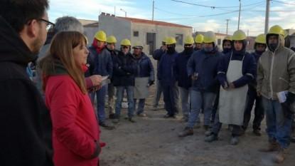 magdalena odarda, cipolletti, obreros, construccion