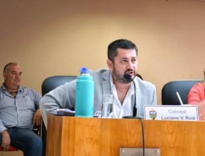 LUCIANO RUIZ, concejales de viedma, uso de sorbetes y vasos plasticos, ordenanza