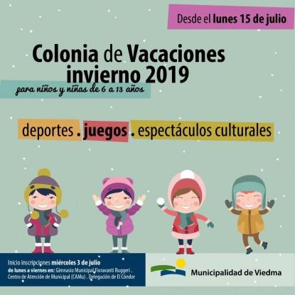 colonia de vacaciones