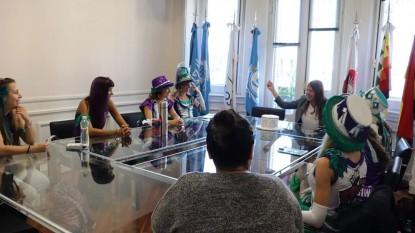 Murgueras Feministas Organizadas, Ornella Infante, inadi