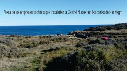 playa, chinos, central nuclear