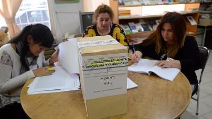 Unter, elecciones