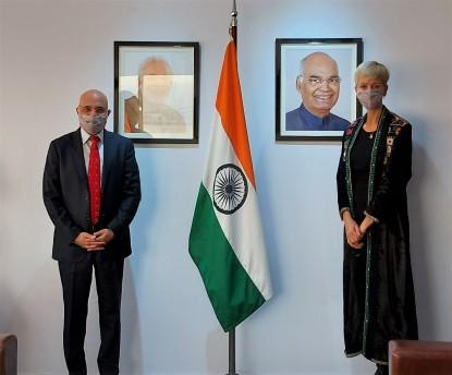 larraburu reunión embajador india