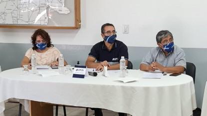 upcn, Héctor Barrionuevo, luis rosas, Mónica Miranda