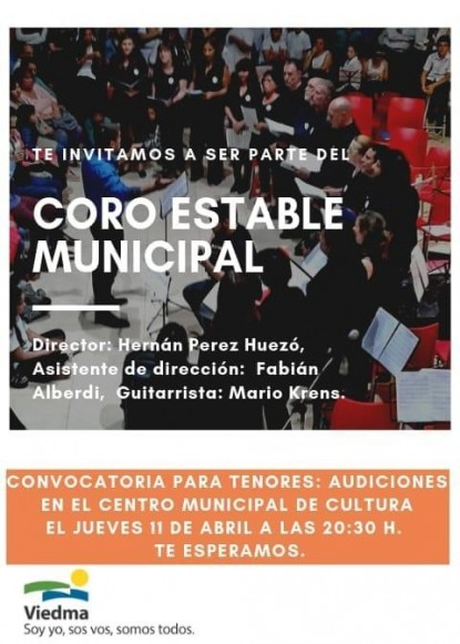 coro estable municipal