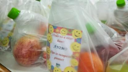 Unter, bolsas, alimentos