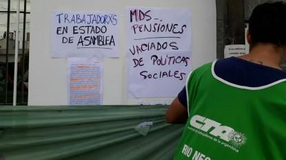 ATE, despidos, Ministerio de Desarrollo Social de la Nación