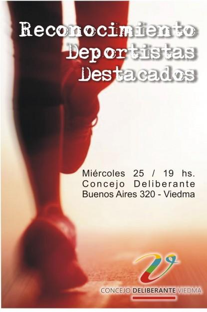 deportistas, Concejo Deliberante, viedma