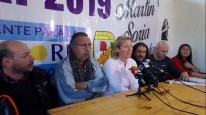 el bolson, rosa monsalve, maria eugenia martini, Ricardo Kaleuche García, Marcos Arizta
