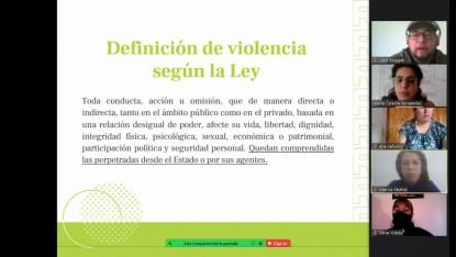capacitación violencia familiar
