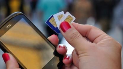 telefono celular, chips