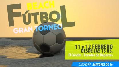 beach futbol