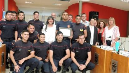 Concejo Deliberante, viedma, bomberos