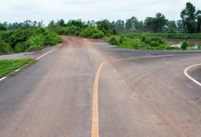 calle de asfalto