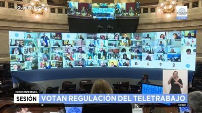 senado, sesion virtual