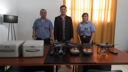policia, DRONES