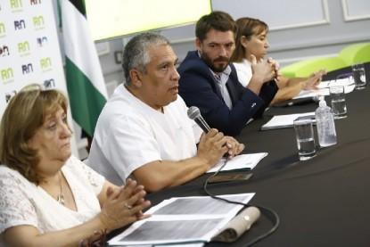 CONFERENCIA DE PRENSA, Rodrigo Buteler, María de las Mercedes Jara Tracchia, GUZMAN, Coronavirus