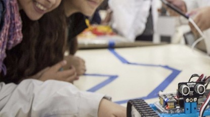 aulas, robots