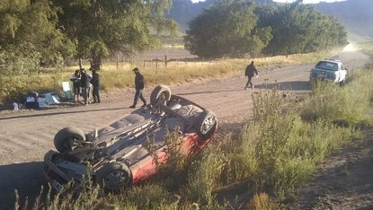 ruta 23, ACCIDENTE, vuelco