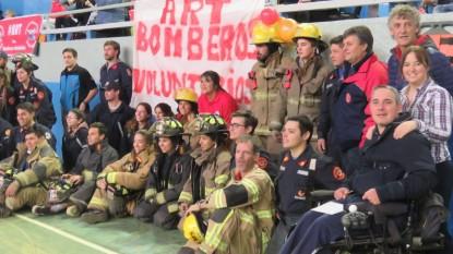 magdalena odarda, bomberos voluntarios
