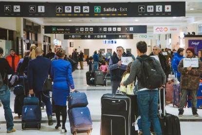 bariloche, aeropuerto, pasajeros