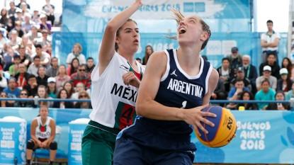 basquet, Juegos Olímpicos de la Juventud, sol castro