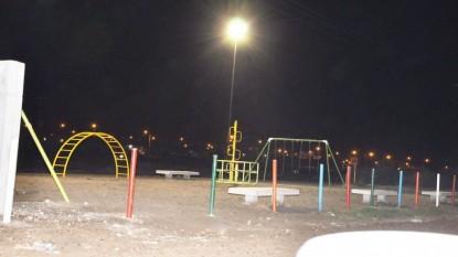 ILUMINACION, plaza, alvarez guerrero