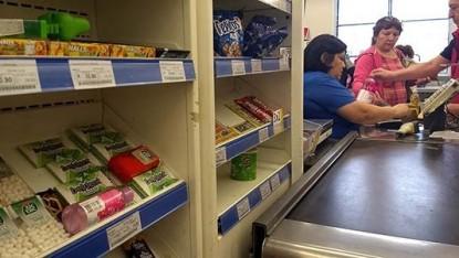 golosinas, supermercado, caja