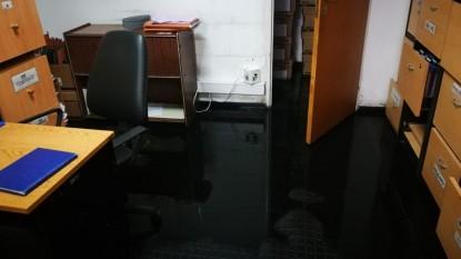 lluvia, ipross, oficina