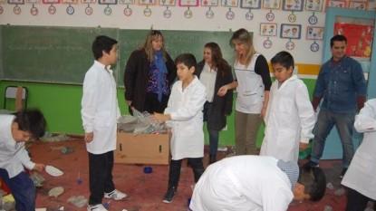 campaña reocleccion residuos alumnos sao