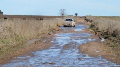 lluvia, PATAGONES, caminos rurales