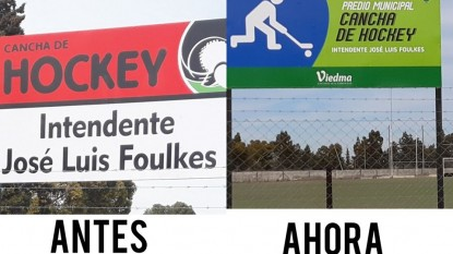 cancha, hockey, jose luis foulkes, cartel