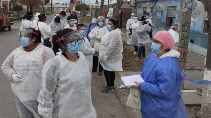 BARRIO ALVAREZ GUERRERO, personal de salud, Coronavirus, plan detectar