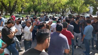 taxistas, manifestacion
