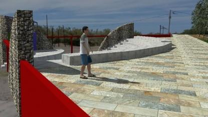 el condor, proyecto, anfiteatro