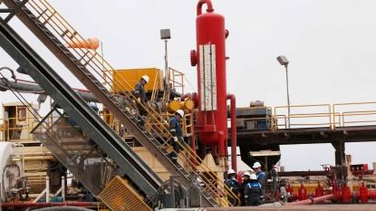 cerro manrique, pozo petrolero