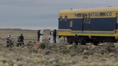 ACCIDENTE, tren patagonico, fatal