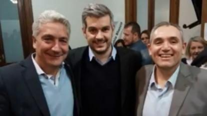 MARCOS PEÑA, JOSE LUIS ZARA, MARCELO CASTRONOVO